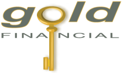 Gold Financial Retina Logo